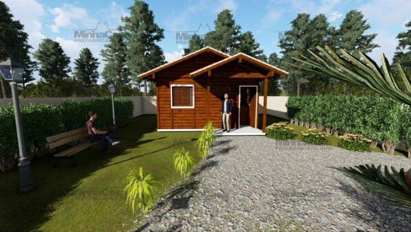 Minha casa pré fabricada modelo Ilhota 07