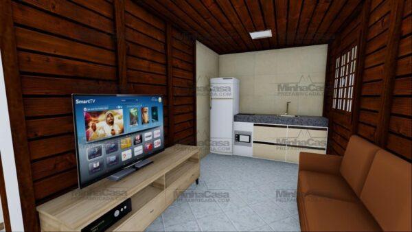 Minha casa pré fabricada modelo Ilhota 08