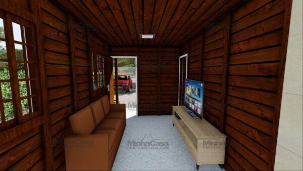 Minha casa pré fabricada modelo Ilhota 09