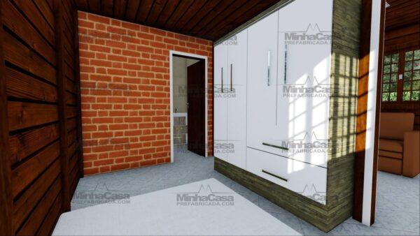 Minha casa pré fabricada modelo Ilhota 10