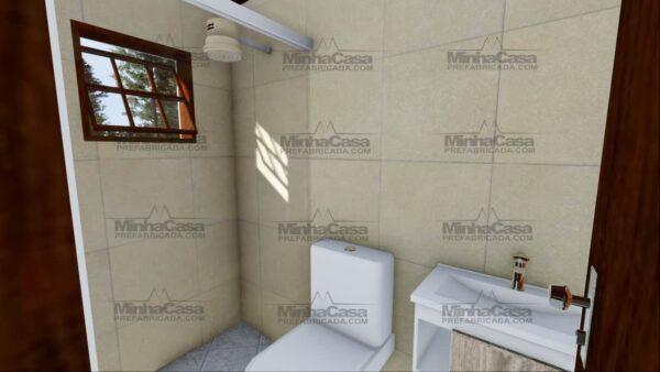 Minha casa pré fabricada modelo Ilhota 11