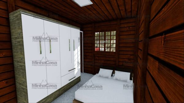 Minha casa pré fabricada modelo Ilhota 12