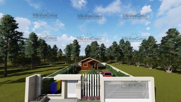 Minha casa pré fabricada modelo Ilhota 13