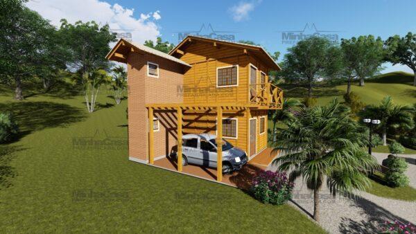 Minha casa pré fabricada modelo Itajai 02
