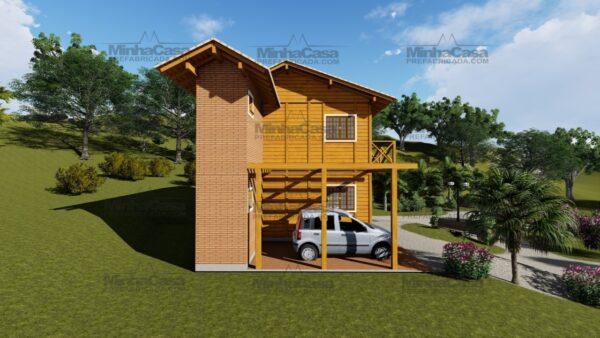Minha casa pré fabricada modelo Itajai 03