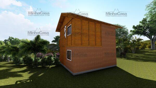 Minha casa pré fabricada modelo Itajai 05