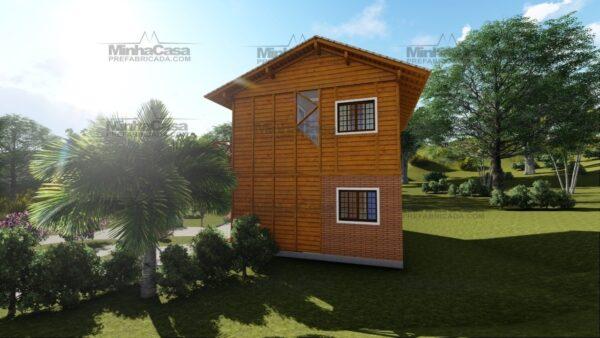Minha casa pré fabricada modelo Itajai 06