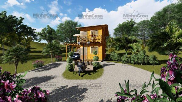 Minha casa pré fabricada modelo Itajai 07