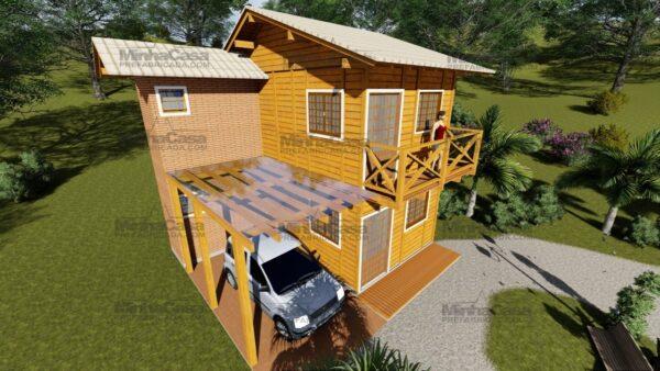 Minha casa pré fabricada modelo Itajai 09