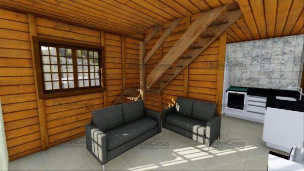 Minha casa pré fabricada modelo Itajai 10