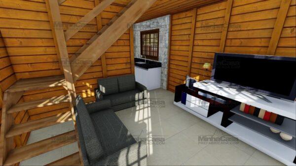 Minha casa pré fabricada modelo Itajai 11