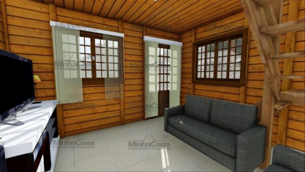 Minha casa pré fabricada modelo Itajai 12