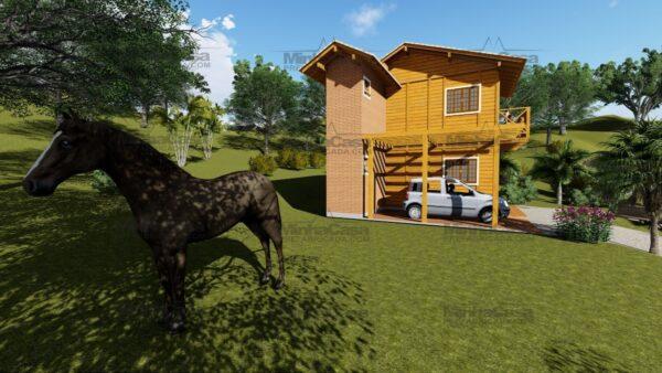 Minha casa pré fabricada modelo Itajai 13