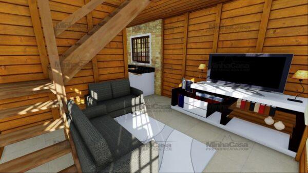 Minha casa pré fabricada modelo Itajai 14