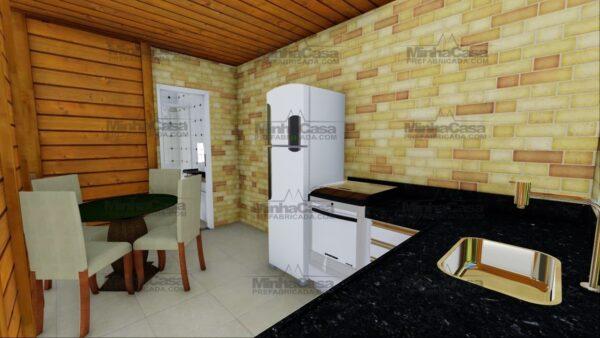 Minha casa pré fabricada modelo Itajai 15