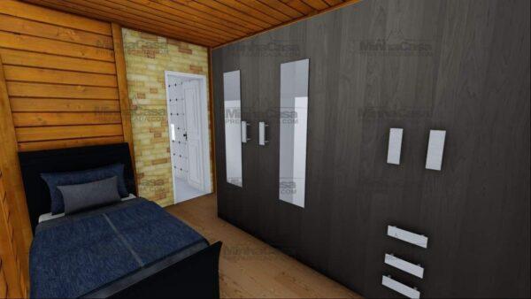 Minha casa pré fabricada modelo Itajai 18