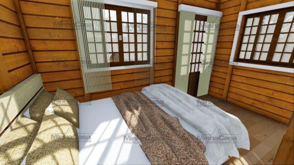 Minha casa pré fabricada modelo Itajai 19
