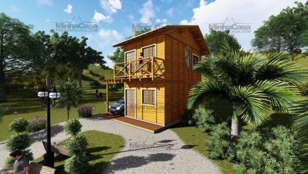 Minha casa pré fabricada modelo Itajai 8