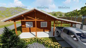 Minha casa pré fabricada modelo Itapema 01