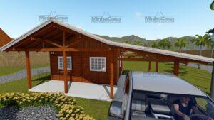 Minha casa pré fabricada modelo Itapema 02