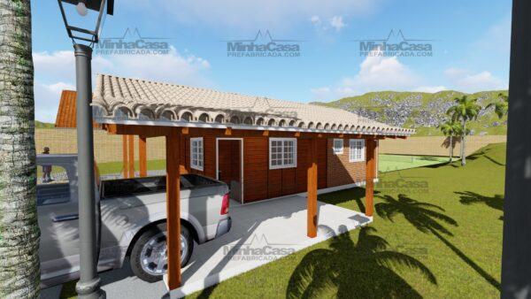 Minha casa pré fabricada modelo Itapema 04