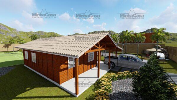 Minha casa pré fabricada modelo Itapema 06