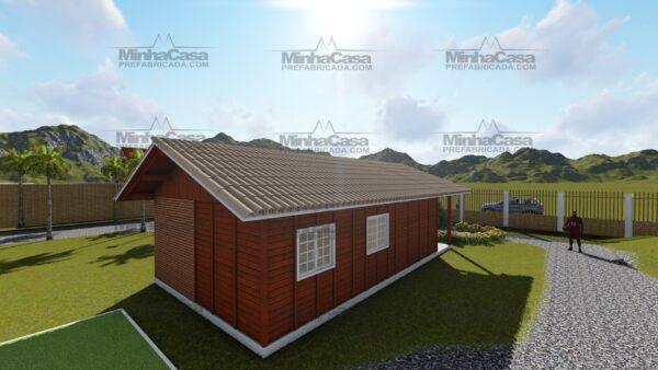 Minha casa pré fabricada modelo Itapema 07