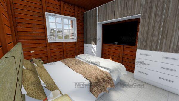 Minha casa pré fabricada modelo Itapema 17