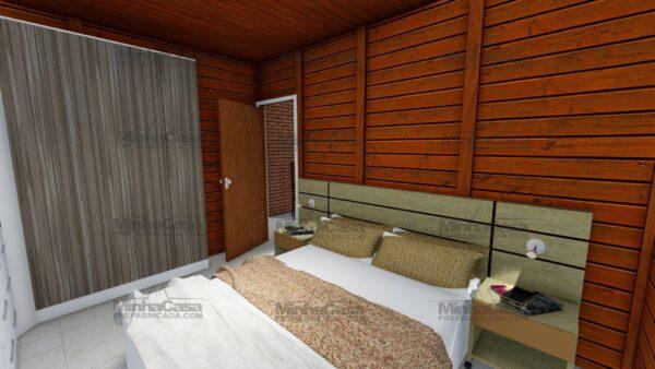 Minha casa pré fabricada modelo Itapema 18