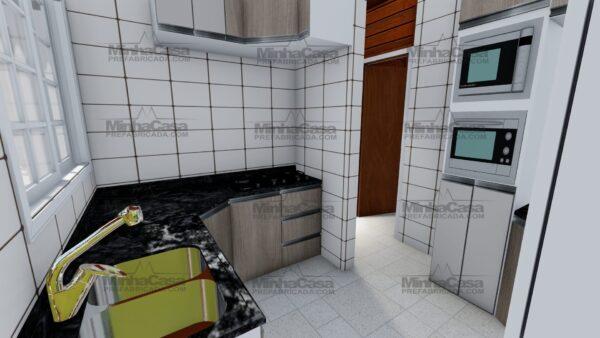 Minha casa pré fabricada modelo Itapema 22