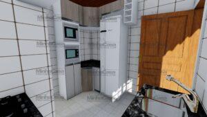 Minha casa pré fabricada modelo Itapema 23