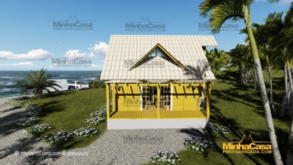 Minha casa pré fabricada modelo Itapoá 02