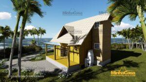 Minha casa pré fabricada modelo Itapoá 03