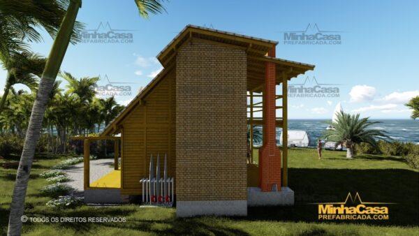 Minha casa pré fabricada modelo Itapoá 04