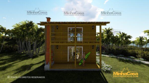 Minha casa pré fabricada modelo Itapoá 06