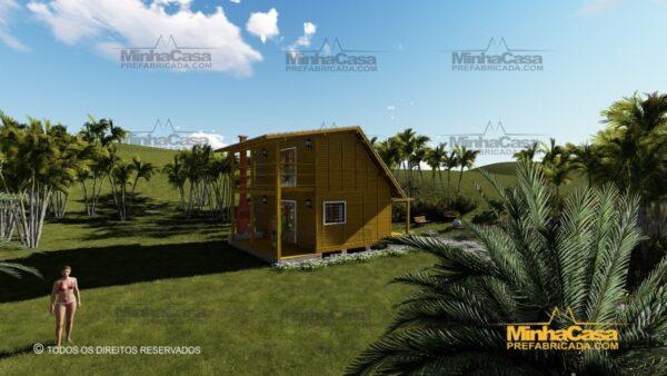Minha casa pré fabricada modelo Itapoá 07