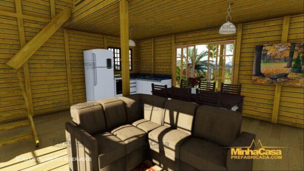 Minha casa pré fabricada modelo Itapoá 08