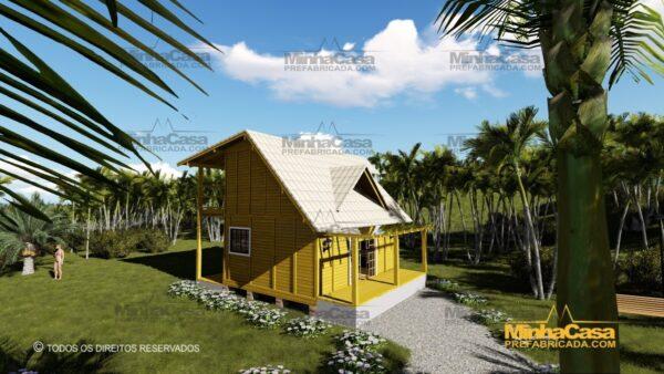 Minha casa pré fabricada modelo Itapoá 09