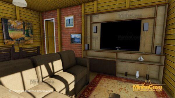 Minha casa pré fabricada modelo Itapoá 10
