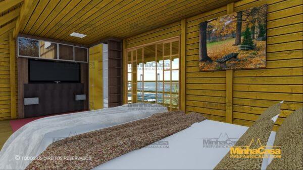 Minha casa pré fabricada modelo Itapoá 15