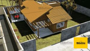 Minha casa pré fabricada modelo Jambeiro 02