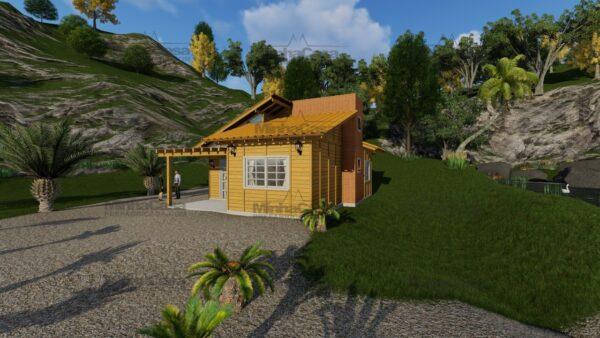 Minha casa pré fabricada modelo Jambeiro 03