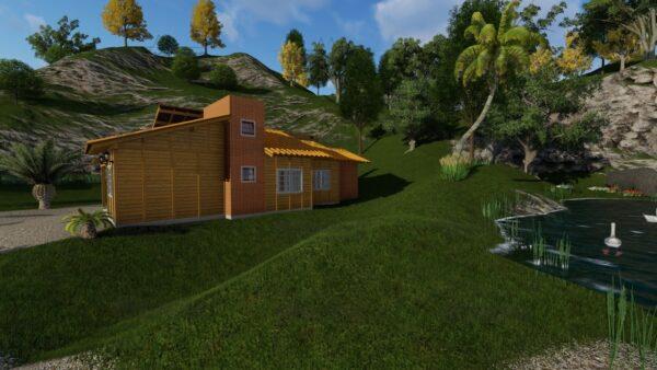 Minha casa pré fabricada modelo Jambeiro 04