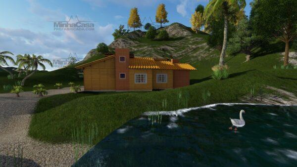 Minha casa pré fabricada modelo Jambeiro 05