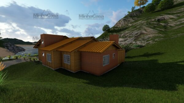 Minha casa pré fabricada modelo Jambeiro 06