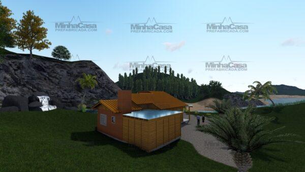 Minha casa pré fabricada modelo Jambeiro 07