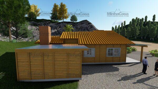 Minha casa pré fabricada modelo Jambeiro 08