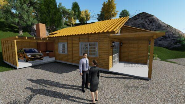 Minha casa pré fabricada modelo Jambeiro 09