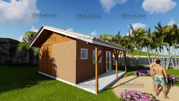 Minha casa pré fabricada modelo Joinville 03