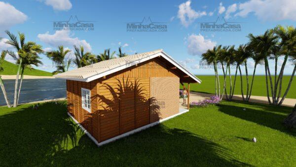 Minha casa pré fabricada modelo Joinville 04
